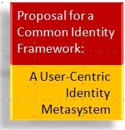 Proposal for a Common Identity Framework By Dr. Reinhard Posch (CIO of Austria), Dr. Kai Rannenberg (Chair of Identity at Goethe University) and myself
