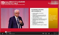 Conflicting VIsions of Cloud identity Keynote at European Identity and Cloud Conference, April 2012
